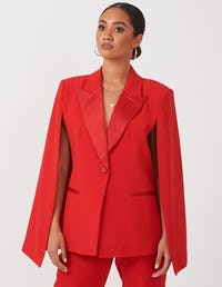 Red Cape Blazer