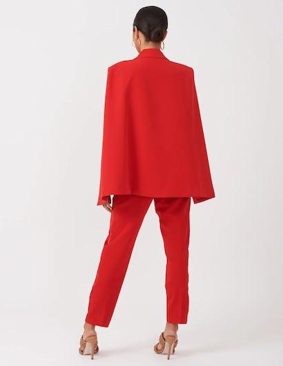 Red Cape Blazer