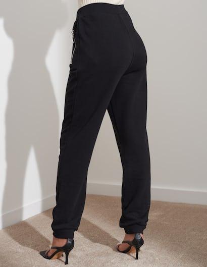 Black Slim Fit Jogging Bottoms
