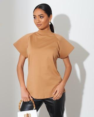 CamelBell Sleeve T-Shirt