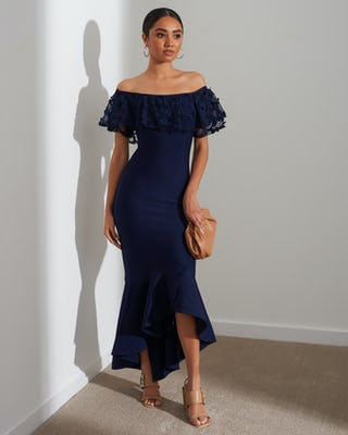 NAVY UC AW2020 DRESS MIDI