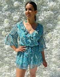 Perfect Turquoise Playsuit